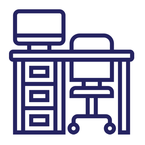 dedicated desk - icon