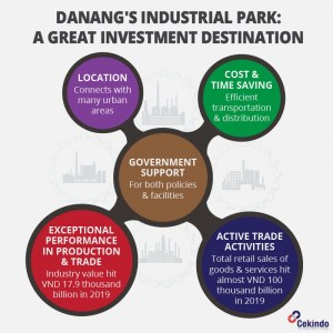 Infographic - starting a business in Danang Vietnam